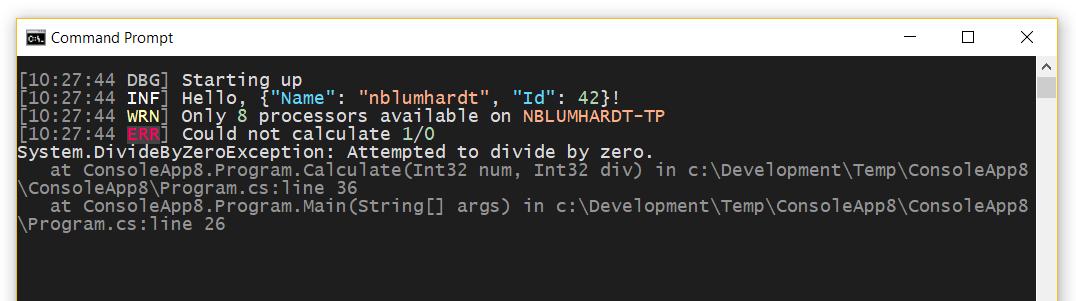 VS Code Console Theme