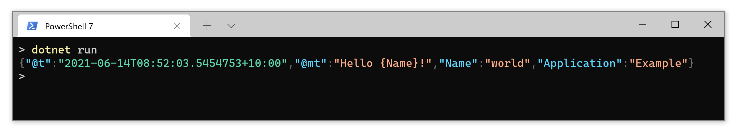 Output to Windows Terminal with syntax-highlighted JSON