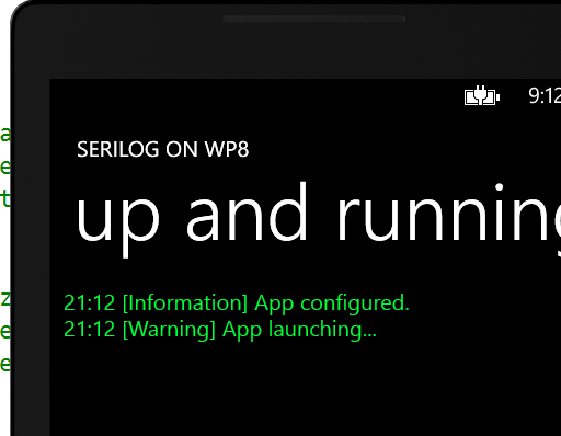Serilog on WP8