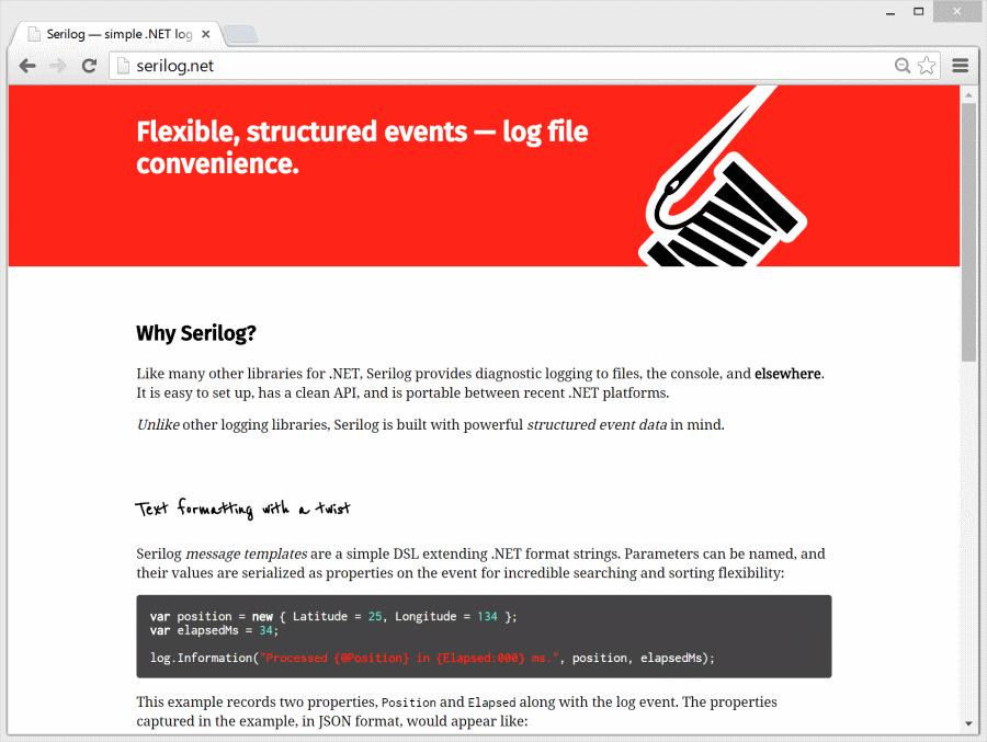 Serilog.net